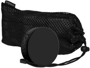 (12) Inglasco Official Black 6oz Ice Hockey Training Pucks in Mesh Carry Bag