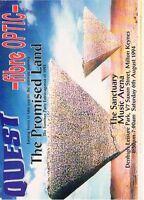 QUEST FIBRE OPTIC Rave Flyer Flyers 6/8/94 A4 The Sanctuary Milton Keynes
