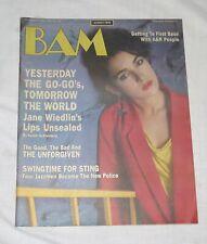 BAM The California Music Magazine 1 Nov 1985 218 Yesterday The Go-Go's Tomorrow