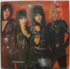 LEATHER ANGEL We Came To Kill ORG US Sealed LP 1983 Glam Heavy Metal