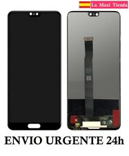 "Pantalla Completa para ""Huawei P20"" (LCD + Tactil) Display Negro Negra Notch"