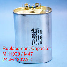 1000W Oil filled Capacitor HID MH1000 M47 24uF/480VAC ~~UL APPROVED~~