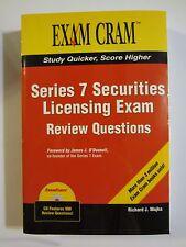Series 7 Securities Licensing Exam (2006) paperback EXAM CRAM with CD Majka
