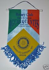 Barra Do Garcas MT Brazil Aguas Quentes Rotary International Club Banner Flag