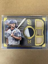 Wil Myers 2019 Topps Museum Primary Pieces Quad Relic #/25!! San Diego Padres
