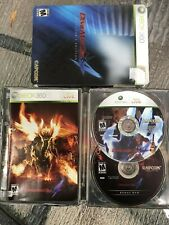 Devil May Cry 4: Collector's Edition Game (Microsoft Xbox 360) Steel Case+Cover