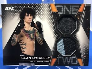 Sean O'Malley 2019 Topps UFC Knockout 1-2 Dual Combo Relic 45/75
