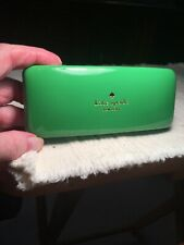 Kate Spade Hard Shell Eye Glasses Case Only. Teal/Green.
