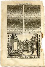 Rare Antique Print-SIEGE-BRUGES-PHILIP THE GOOD-BURGUNDY-Doppere-Vorsterman-1531