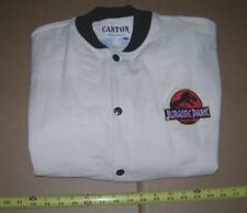 JURASSIC PARK JACKET VINTAGE NEVER WORN - SIZE L - EMBROIDERED LOGO MOVIE =