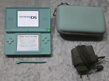 Nintendo DS Lite Spiele Konsole Hell-Blau, Tasche, original Ladekabel