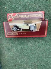MATCHBOX MODELS OF YESTERYEAR Y-8 1945 MG TC MINT CONDITION