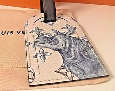 "Louis Vuitton ""Rhino"" Limited Edition Chapman Brothers Luggage Tag SOLD OUT"