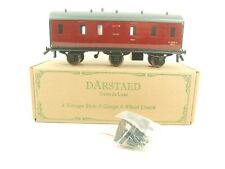 Darstaed O Gauge BR Maroon Unlined Six Wheel Stove Coach R/N M32978 B/New Boxed