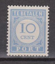 P55 Port nr. 55 ongebruikt MLH NVPH Nederland Netherlands Pays Bas due portzegel