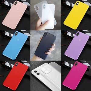iPhone X,XS, 8,SE2,XSMAX ,XR iphone 11,11pro ,11promax COVER 0.3MM CUSTODIA SLIM