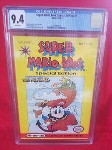 💥SUPER MARIO BROS Special Edition 1💥 - CGC 9.4 NM - first Valiant comic!!!