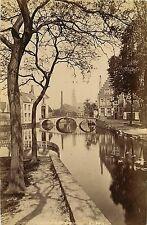 PHOTO ND 260615 - BELGIQUE Bruges le canal et le Béguinage