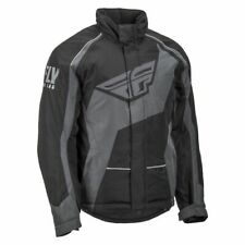 Fly Racing Men's Outpost Jacket-Black/Grey MEDIUM