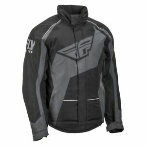 Fly Racing Men's Outpost Jacket-Black/Grey 2XL