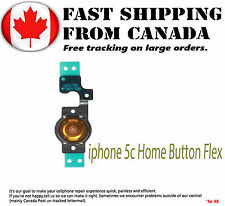 Replacement Part For iPhone 5C Home Menu Back Button Flex Cable For 5C