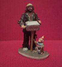Emmett Kelly Jr. Miniature Collection Hurdy Gurdy Man by Flambo