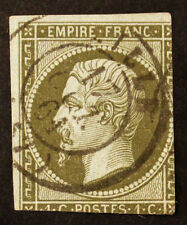 Timbre FRANCE / FRENCH Stamp - Yvert et Tellier n°11 obl (Cyn23)