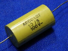 Condensatore 10 uF 100Vcc Arcotronics poliestere crossover