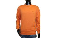 Neu Tommy Hilfiger Herren Sweater Pullover orange