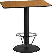 Rectangular 30x45 NA Laminate Table-RDBase New