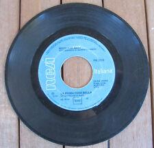 """NICOLA DI BARI La Prima Cosa Bella (1970) Vinyl 7"""" 45 RPM - RCA Italiana PM 3510"""