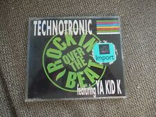 Technotronic Rockin Over The Beat RARE West German CD Single