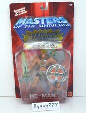 MOTU, He-Man, Comic Con Exclusive, 200x, Masters of the Universe, MOC, sealed