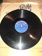 6 x Disques Gramophone  voir titre