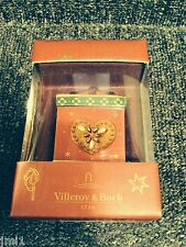 Villeroy & Boch MY CHRISTMAS TREE Red Square Gift Box -# 6859