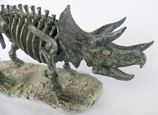 Dinosaurier Skluptur Triceratops Figur Skelett Fossil Dekofigur NY16-b