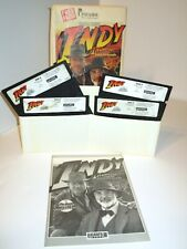 1990 Indiana Jones and the Last Crusade IBM PC Graphic Adventure Video Game Disk