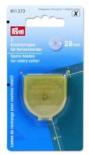 Prym 2 Ersatzklingen für Rollschneider Mini (28 mm), Prym-Nr. 611 372   #3688
