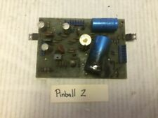 Gottlieb  pinball power supply, needs work