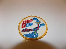 "Early Vintage 2.75"" Roadrunner Patch Badge Label Plymouth Mopar Car Beep RARE!"