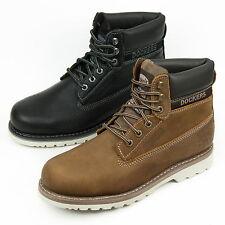 DOCKERS Herren Boots Leder Schuhe Schnürstiefel 33CR001