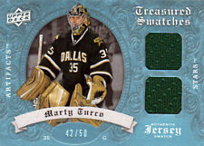 08-09 Artifacts Treasured Swatches Dual BLUE xx/50 Made! Marty TURCO - Stars