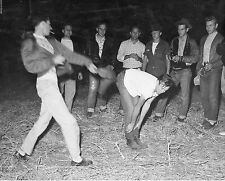 Vtg B&W 1920's - 1930's BETA PHI Frat Photo (Getting Spanked W/ Paddle) Hazing 2