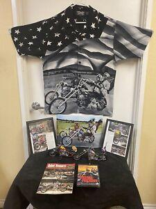 H.D. Motorcycle  Easy Rider Movie Captain America Chopper ,Billy Bike Models 1&2