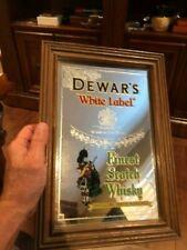 Dewar's Scotch Mirror