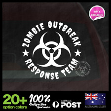 ZOMBIE OUTBREAK RESPONSE TEAM Vinyl Sticker Decal Window Car Motorbike 110x110mm