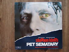"LP-O.S.T. PET Sematary-Stephen King ""perfetto!"" VERY RARE!!!"