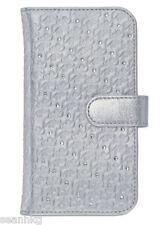 Swarovski Swanflower Silver Smartphone Bookcase Samsung Galaxy S*4 MIB 5048972