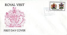 24 OCTOBER 1985 ANTIGUA REDONDA ROYAL VISIT FIRST DAY COVER