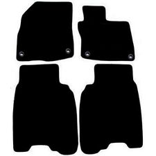 Honda Civic 2008 - 2012 Black Tailored Fitted Car Mats Free Coloured Edging